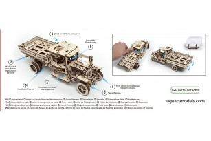 Mechanical model Truck UGM-11