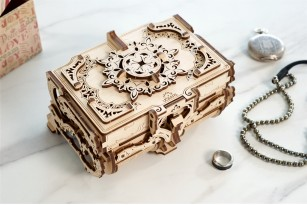 Mechanical model Antique Box