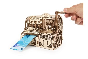 Mechanical wooden Model «Cash Register»
