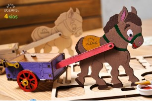 Mechanical model Donkey