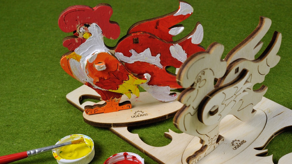 Mechanical model Cockerel