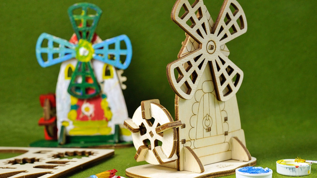 Mechanical model Mill