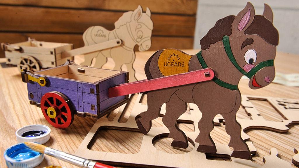 Mechanical model Donkey