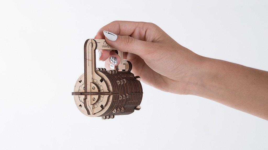 Mechanical model Combination Lock