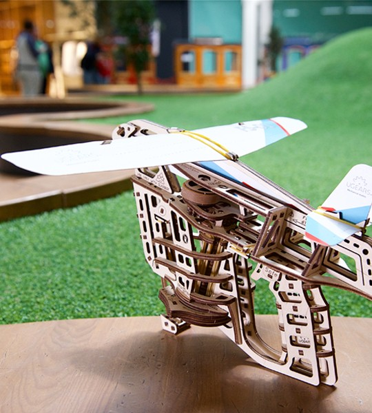 Ugears Flight Starter mechanical model kit