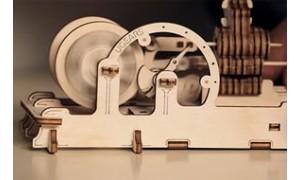 Model Pneumatic engine