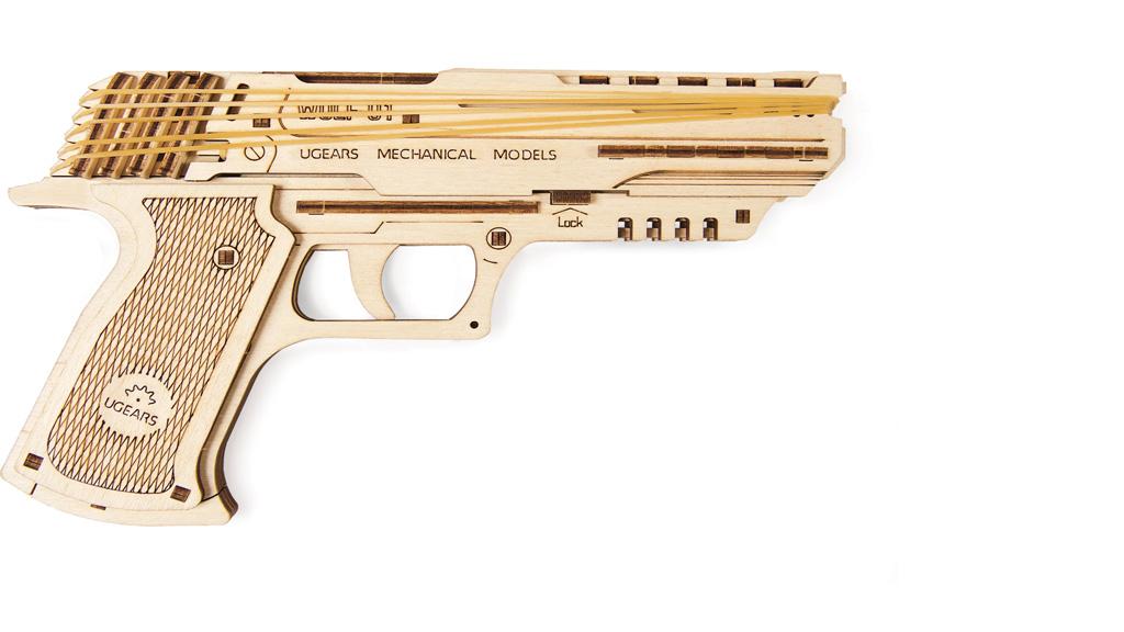 Mechanical model Wolf-01 Handgun