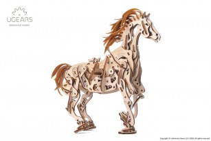 Mechanical model Horse-Mechanoid model