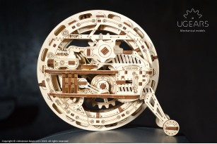 Mechanical model Monowheel