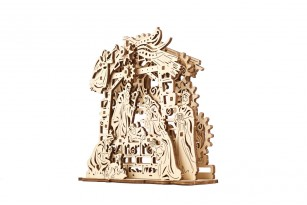 Mechanical model Nativity Scene
