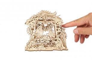 Mechanical model Nativity Scene