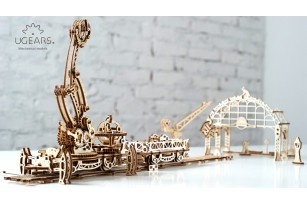 Mechanical model Rail Mounted Manipulator