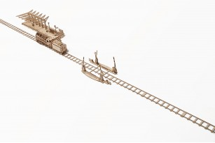Mechanical model Rails