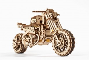 Scrambler UGR-10 Motor Bike with sidecar