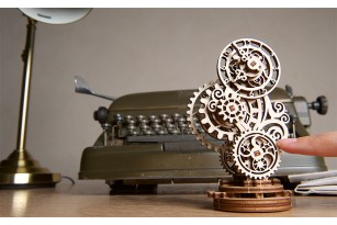 Mechanical model Steampunk Clock