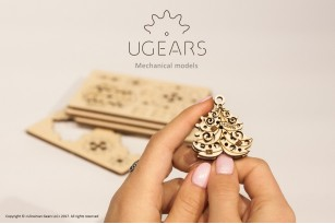Mechanical model U-Fidgets-Happy New Gear