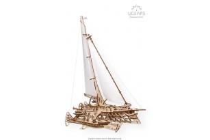 Mechanical model Trimaran Merihobus
