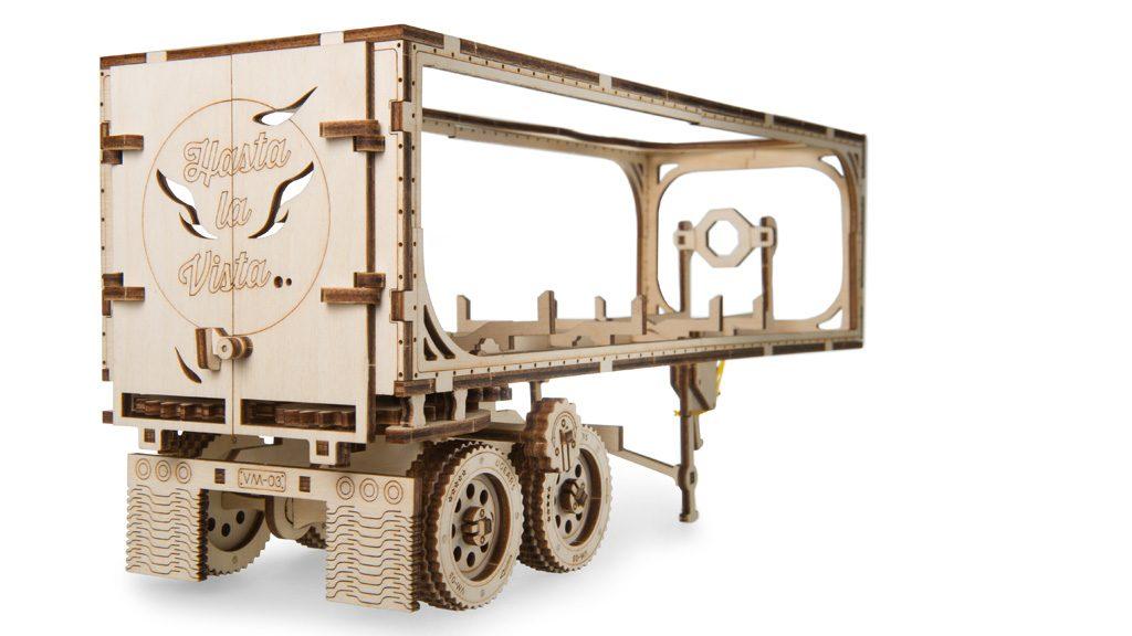 Mechanical model Trailer for Heavy Boy Truck VM-03