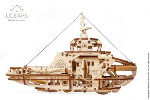 Mechanical model Tugboat